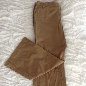 Tan Wide Leg Trouser